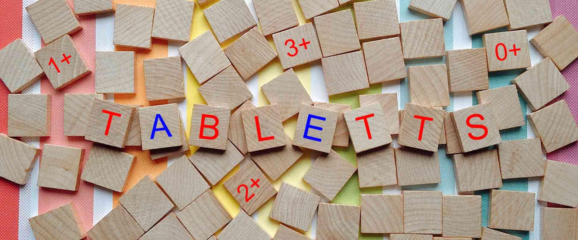Tabletts nach Alter