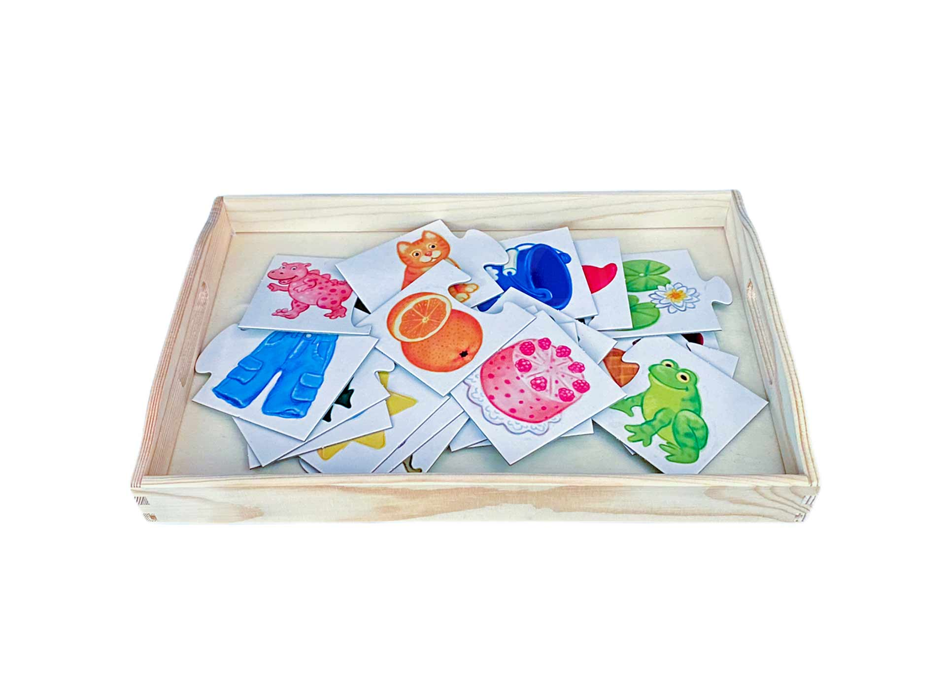 Farbenpuzzle 2 Teile