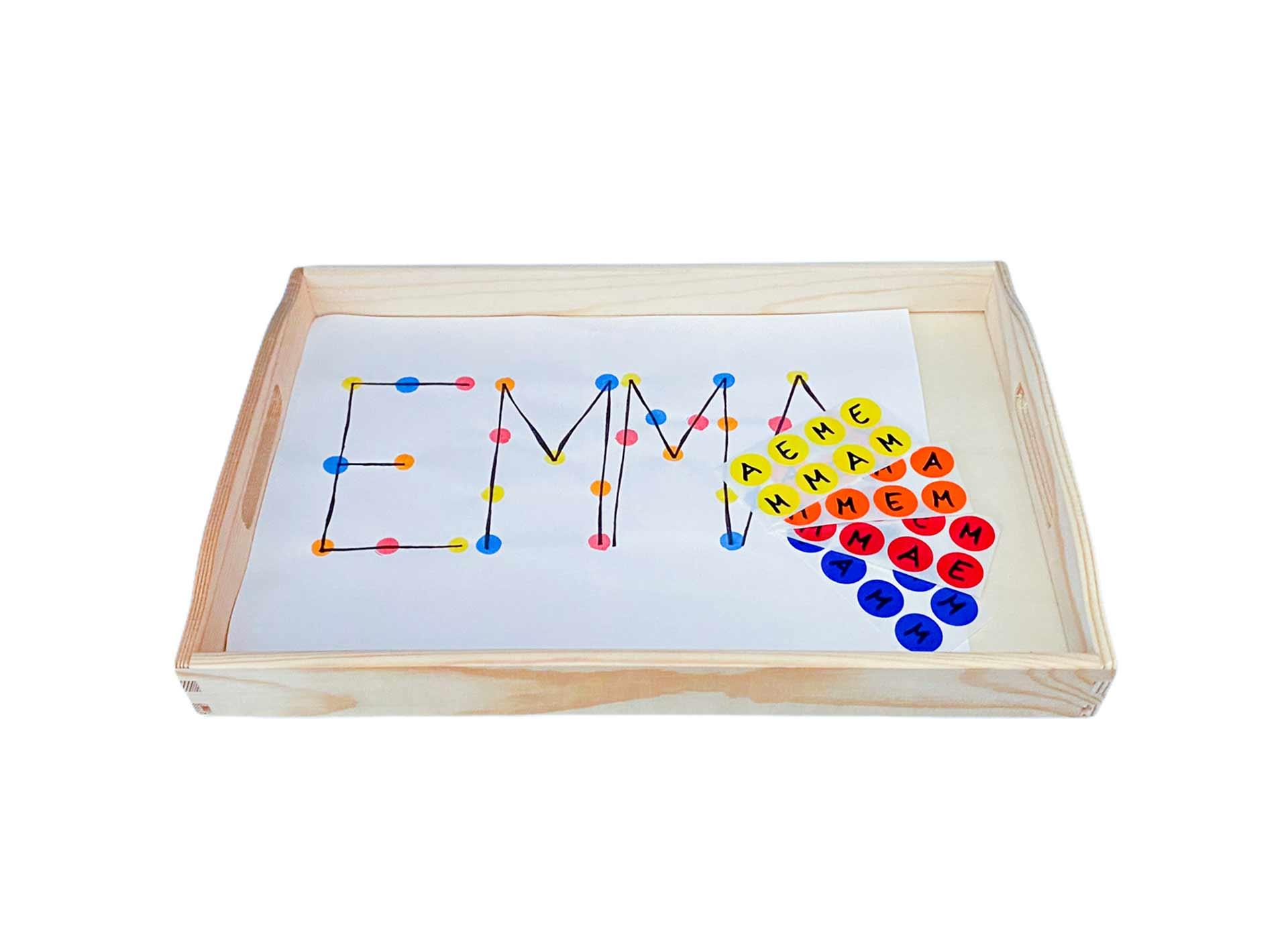 Buchstaben Stickern