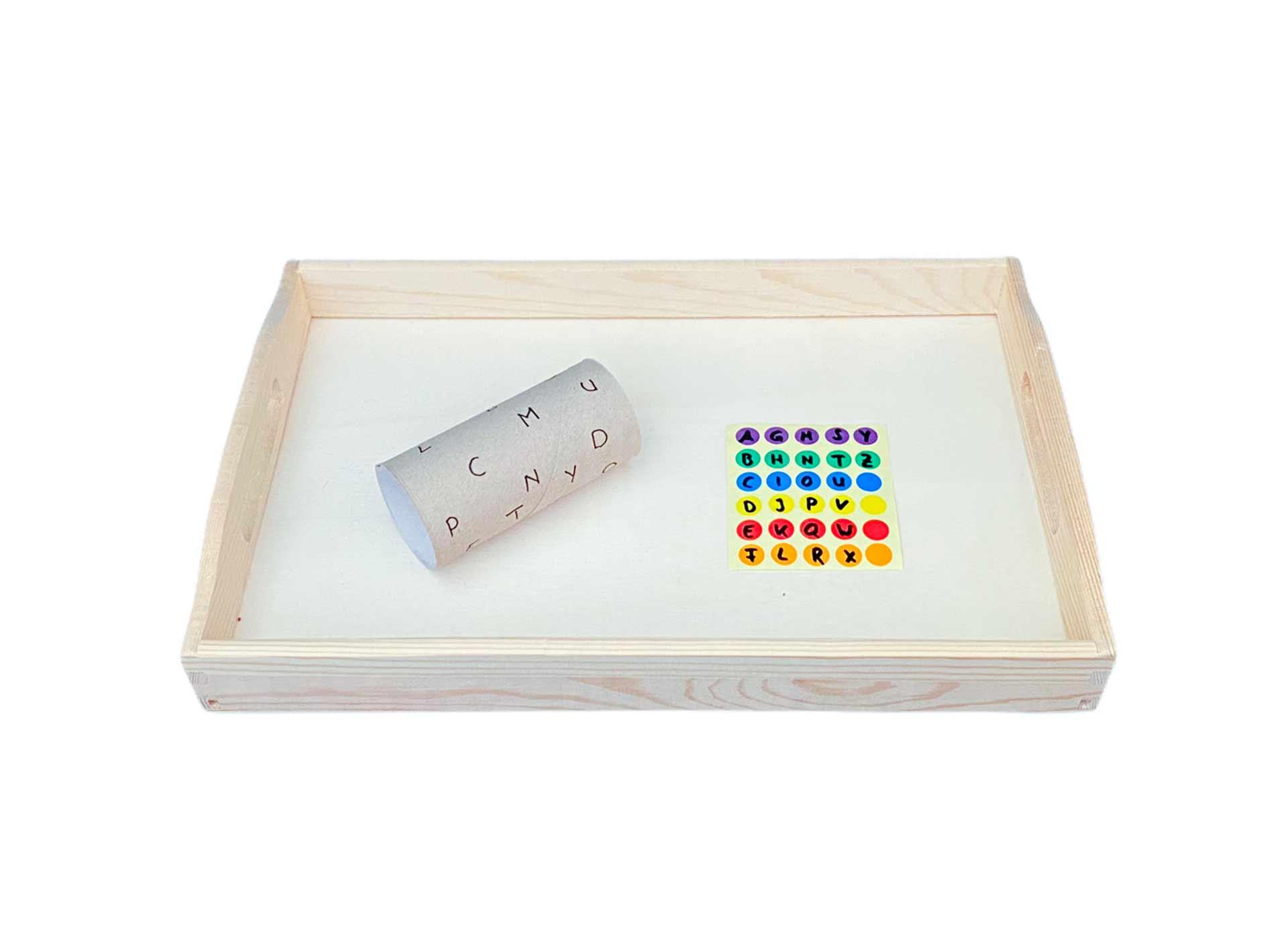 Klopapierrolle Stickern